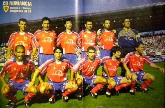 Numancia 1998-99. Portada Don Balón