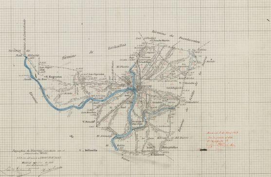 Mapa de Garray.