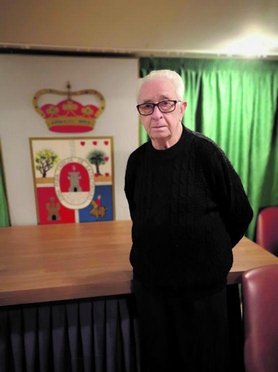 Luis Heras Mínguez, presidente de la Casa de Soria en Barcelona.