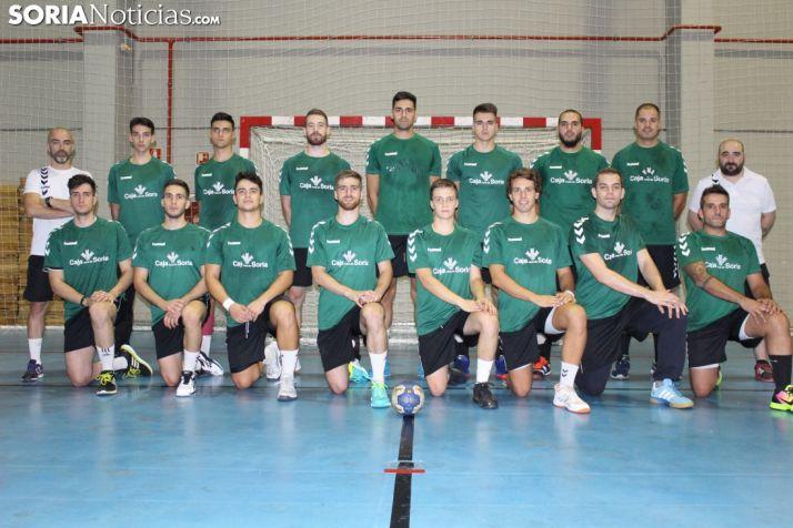 Plantilla 2018-19 del Balonmano Soria.