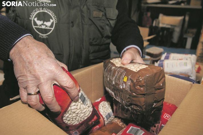 Labor contra el hambre en el Banco de Alimentos. María Ferrer