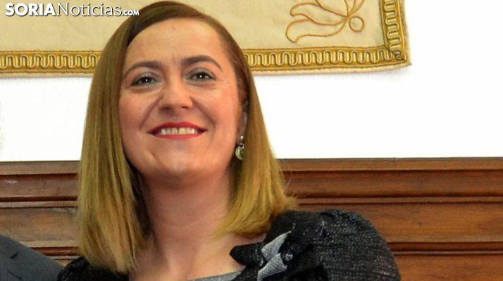 Virginia Barcones, delegada del Gobierno en CyL. /SN