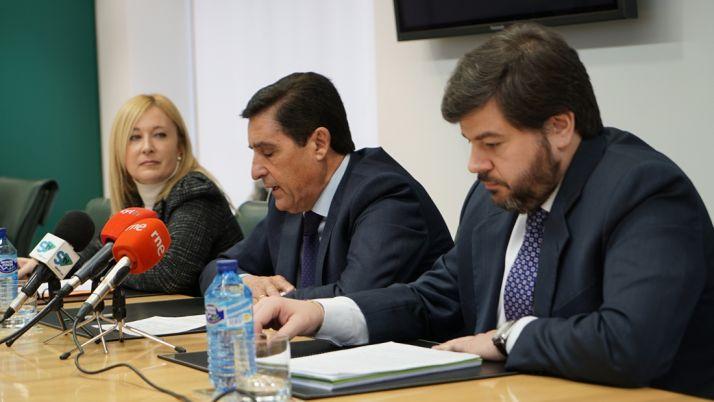 García, Martínez y Carrizosa este lunes.
