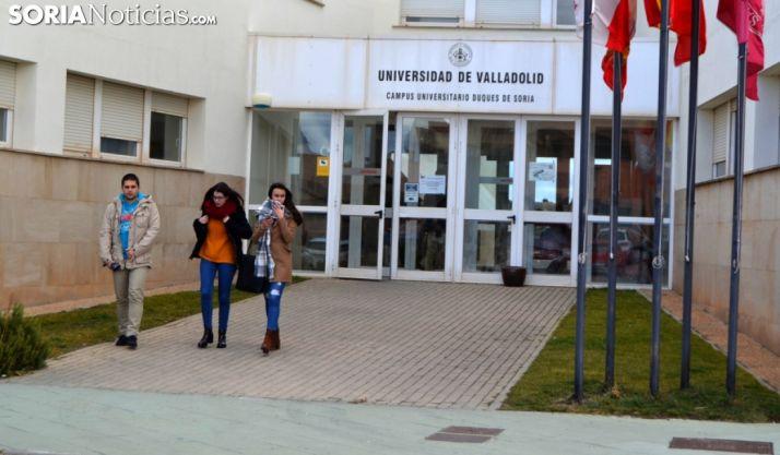 Estudiantes del Campus de Soria en una imagen de archivo. /SN