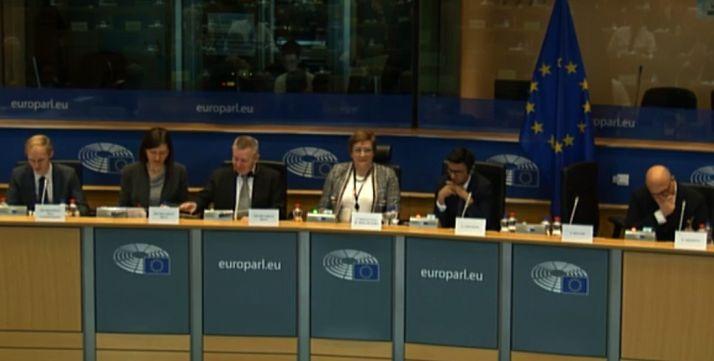 Una imagen de la Comisión de Desarrollo Regional de la UE este martes.