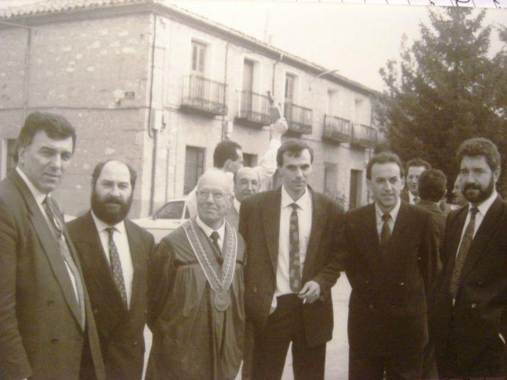 Imagen de la histórica cita en El Burgo de Osma.