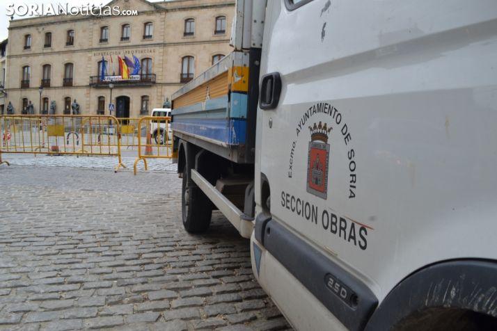 Foto 2 - El PP vuelve a denunciar el adoquinado en zonas peatonales de la ciudad