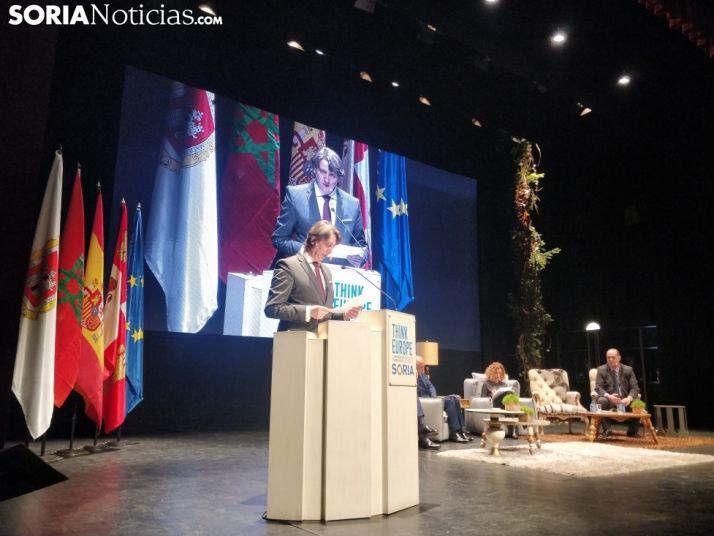 Carlos Martínez durante la inauguración del Congreso.