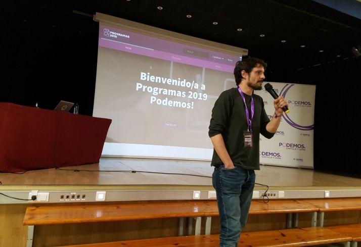 Jorge Ramiro durante su ponencia.
