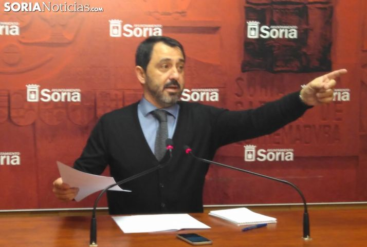Jesús Muñoz durante la rueda de prensa. /SN