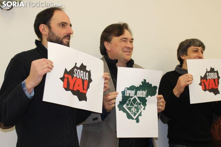 Las plataformas Soria YA y Teruel Existe se revindicarán en Madrid. SN