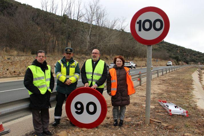 Foto 1 - A partir de este martes no se podrán superar los 90 km/h en 407 kilómetros de carreteras sorianas