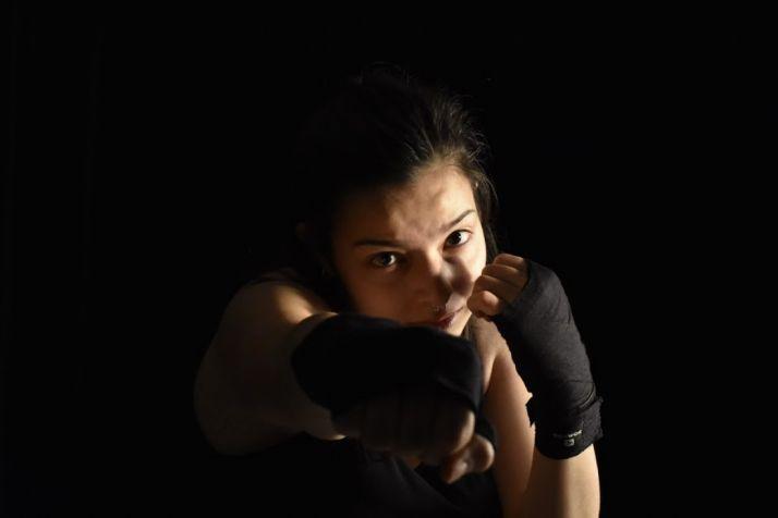 Miriam Pérez, la promesa del Kickboxing Soria. Lorca