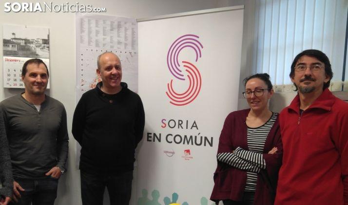 Imagen de la presentación de Soria en Común el pasado 20 de diciembre. /SN
