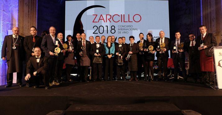 Foto de familia de esta edición de los Zarcillo.