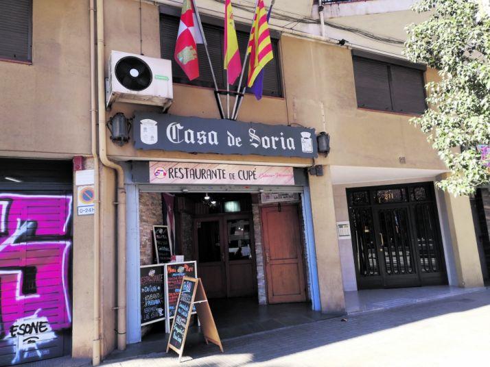 Casa de Soria en Barcelona.