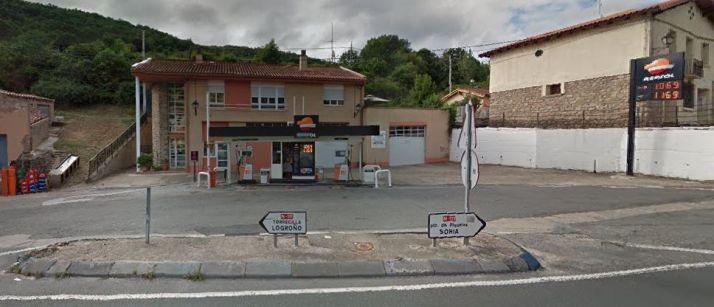 La gasolinera de Cameros. GM