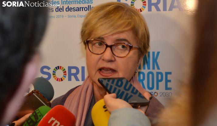 Isaura Leal en Soria. SN