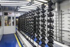 Interior de fábrica de Fico en Soria. Ficosa