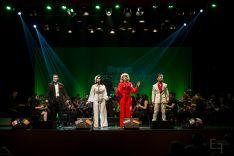 Foto 2 - La Banda de Música se acompaña de 4 voces de altura para recordar lo mejor de Eurovisión