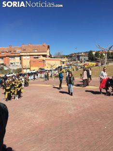 Una imagen del carnaval en el CEIP Gerardo Diego. /SN