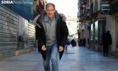 Abel Antón, en el Collado. /SN