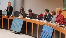La ponente castellano-leonesa, durante su intervención. /Jta.
