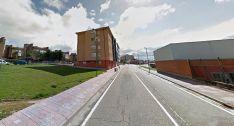 Calle Modesto Ciruelos, en la capital burgalesa. /GM