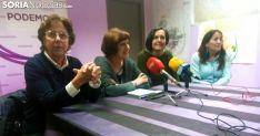 Carmen Heras, María Luisa Muñoz, María José Marco y Leonor Lahoz. /SN