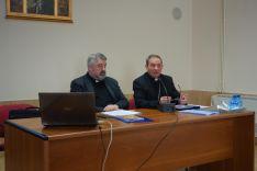 Una imagen del encuentro de sacerdotes diocesanos. /DOS