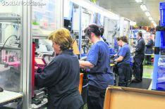 Una imagen del interior de la fábrica soriana. SN