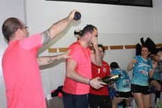El Balonmano Ágreda, campeón de Liga. SN