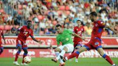 La UD Almería se merendó (0-2) al Numancia en Los Pajaritos. LaLiga