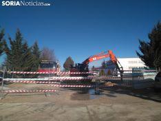 Comienzan las obras en el hospital Santa Bárbara. /SN