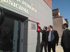 Inauguración de la biblioteca y el Centro Joven de Golmayo. /SN