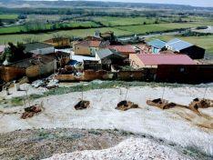 Este es el cerro que Velilla de San Esteban pretende reforestar. Asociación Cultural Barruelo
