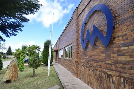 Fachada de la planta de Fico en Soria. FM
