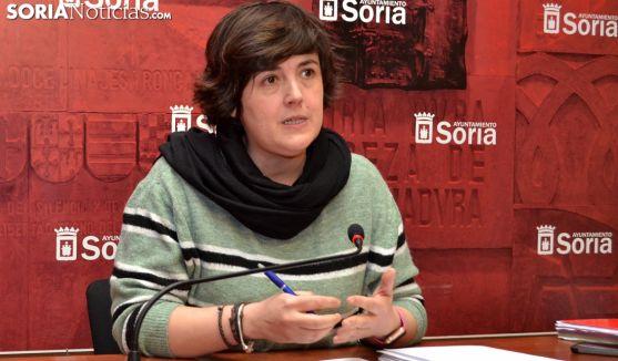 Ana Alegre, este miércoles en rueda de prensa. /SN