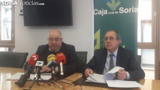 Presentación de la Gala Provincial del Deporte en la Caja Rural de Soria. SN
