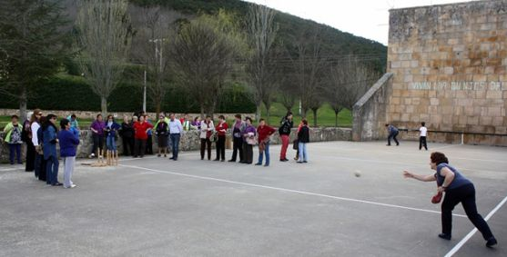 Una edición de los Juegos Populares de la Diputación.