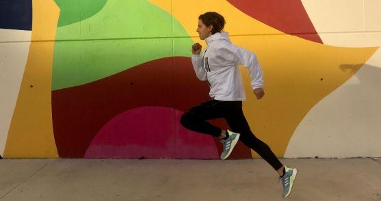 Marta Pérez, atleta del CA Adidas. Cedida por la propia atleta soriana