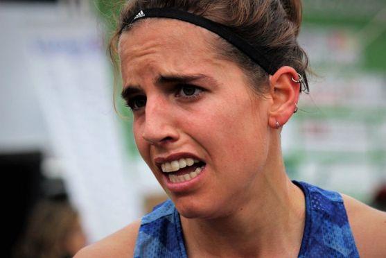Marta Pérez, en el XXV Cross Internacional de Soria. Federación de Atletismo de Castilla y León