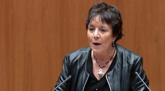 Mercedes Martín, procuradora socialista en la sede parlamentaria de CyL. /Cortes CyL