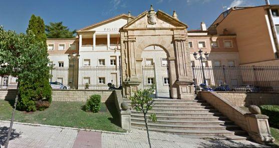 Imagen de la sede de la Policía Municipal de Soria. /SN