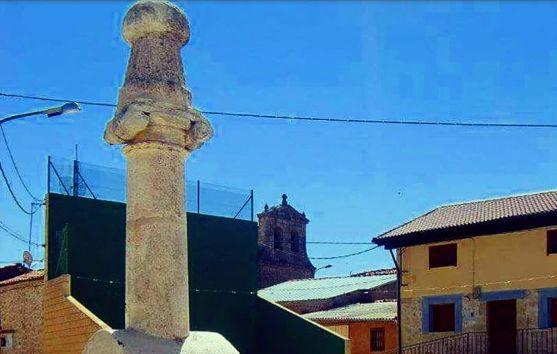 Una imagen de la columna.
