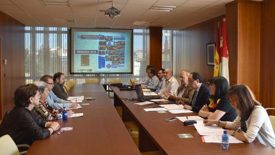 Reunión del Consejo de Salud de Área celebrada esta mañana. /Jta.