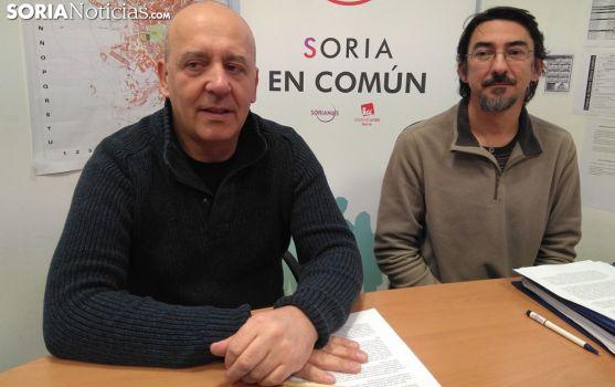 Enrique García (izda.) y Luis Alberto Romero. /SN