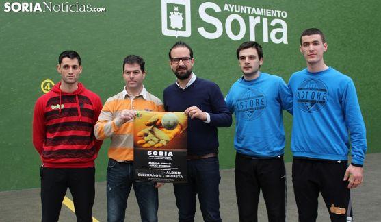 Presentación de la decimotercera jornada del Campeonato de Parejas en La Juventud. SN