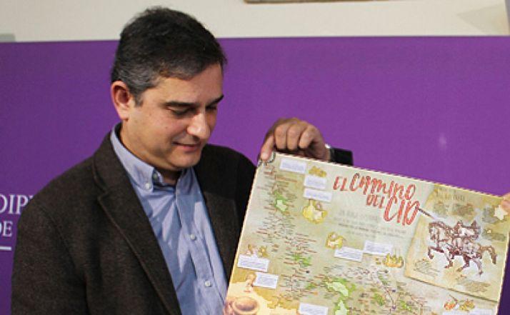 Alberto Luque, director gerente del Consorcio del Camino del Cid.