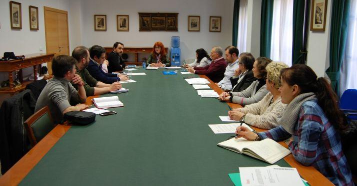 Miembros del Consejo de Comercio. /Ayto.